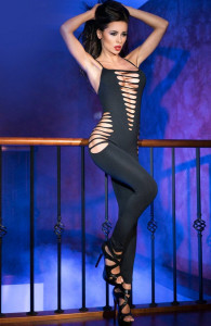 Ολόσωμο Καλσόν Chilirose - Bodystocking Black
