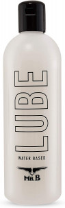 Mister B LUBE Water Based Lubricant, 1000 ml