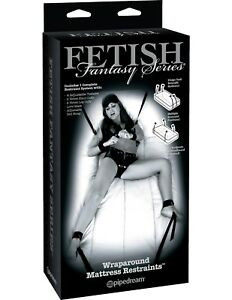Fetish Fantasy Limited Edition Wraparound Mattress Restraints